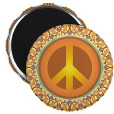 """Peace Sign 2.25"""" Magnet (10 pack)"""
