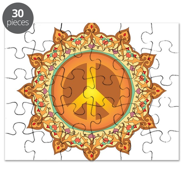 peace coloring pages puzzle - photo#18