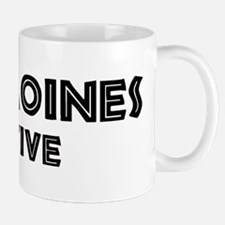 Des Moines Native Mug