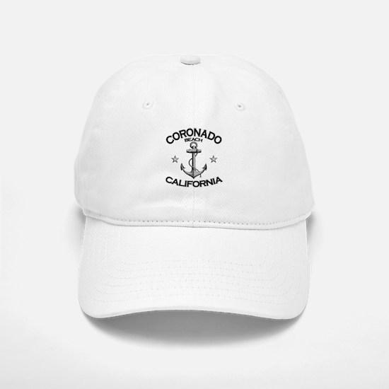 Coronado Beach, California Baseball Baseball Cap