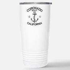 Coronado Beach, California Stainless Steel Travel