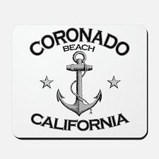 Coronado Beach, California Mousepad