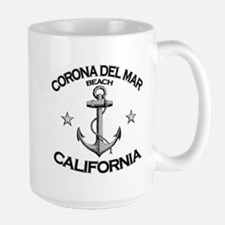 Corona Del Mar Beach, California Mug