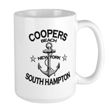 Coopers Beach, South Hampton, NY Mug