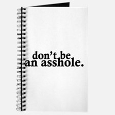 Don't Be An Asshole Journal