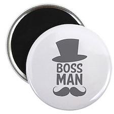"Boss Man 2.25"" Magnet (100 pack)"