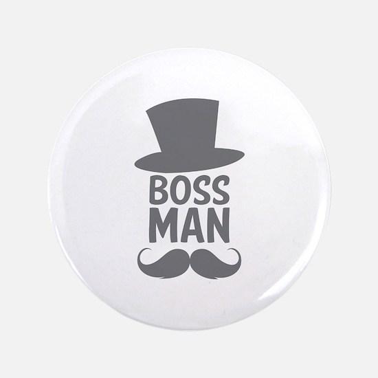 """Boss Man 3.5"""" Button (100 pack)"""
