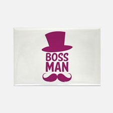 Boss Man Rectangle Magnet (10 pack)