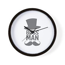 Boss Man Wall Clock