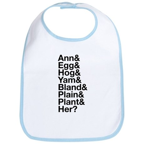 Ann Veal Nicknames Bib