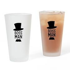 Boss Man Drinking Glass