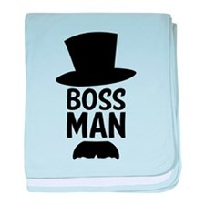 Boss Man baby blanket