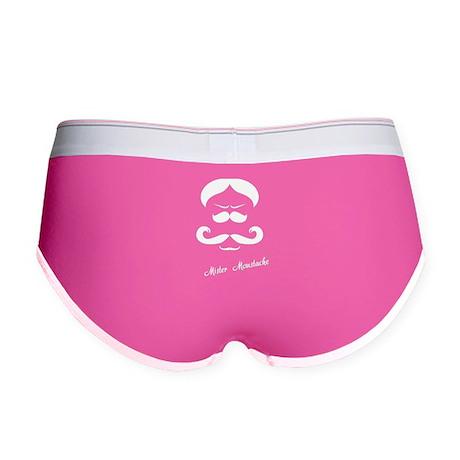 Mister Moustache Women's Boy Brief