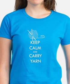 Keep Calm & Carry Yarn Tee