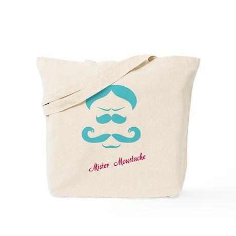 Mister Moustache Tote Bag