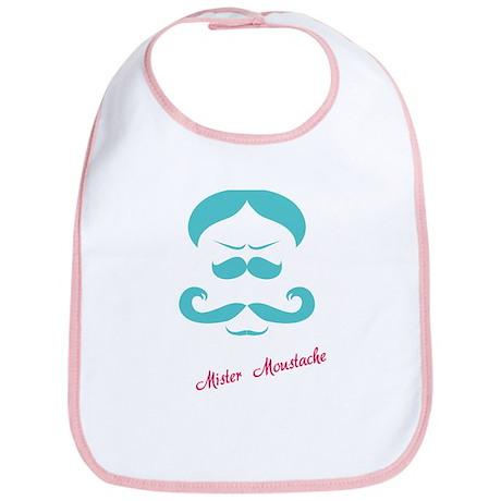 Mister Moustache Bib