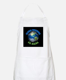 Global Warming - It's the Real Thing BBQ Apron