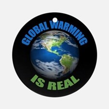 Global Warming - It's the Real Thing Ornament (Rou