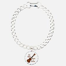 All Uke Need Is Love Bracelet