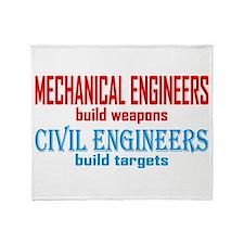 Mechanical vs. Civil Throw Blanket