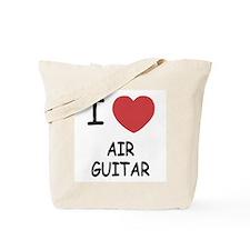 I heart air guitar Tote Bag