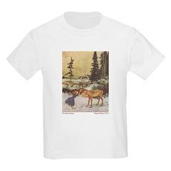 Dulac's Gerda & Reindeer Kids T-Shirt