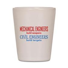 Mechanical vs. Civil Shot Glass