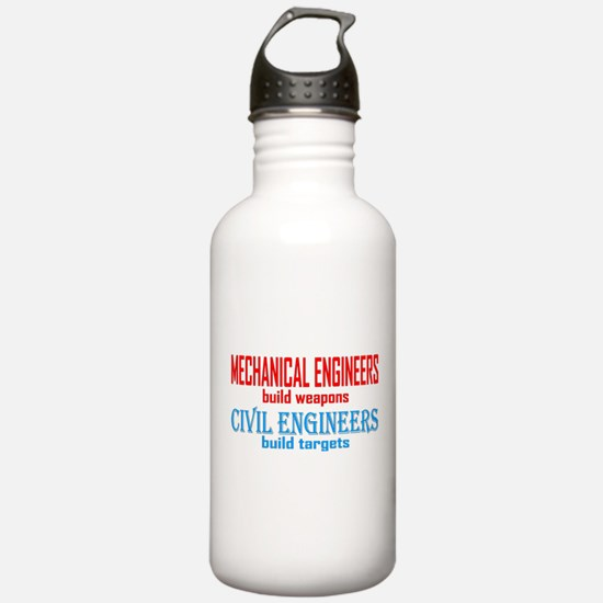 Mechanical vs. Civil Water Bottle