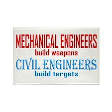 Mechanical vs. Civil Rectangle Magnet