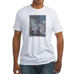 Dulac's Snow Queen Fitted T-Shirt