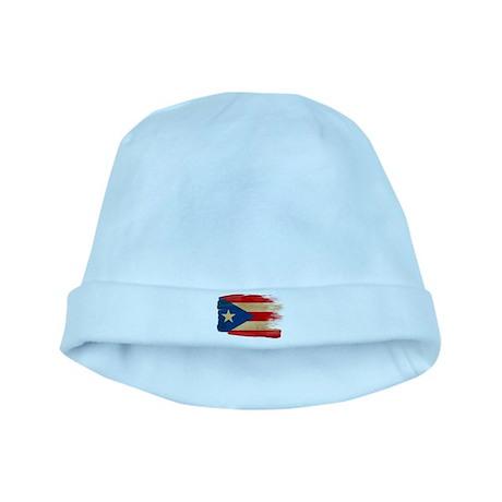 Puerto Rico Flag baby hat
