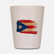 Puerto Rico Flag Shot Glass
