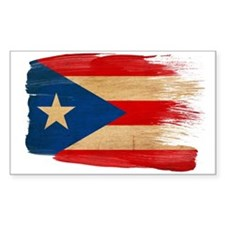 Puerto Rico Flag Stickers