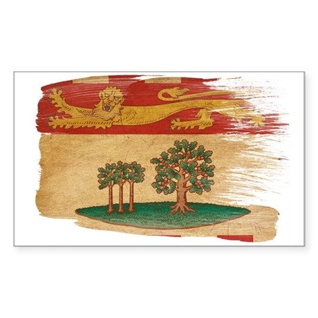 Prince Edward Islands Flag Sticker (Rectangle 50 p