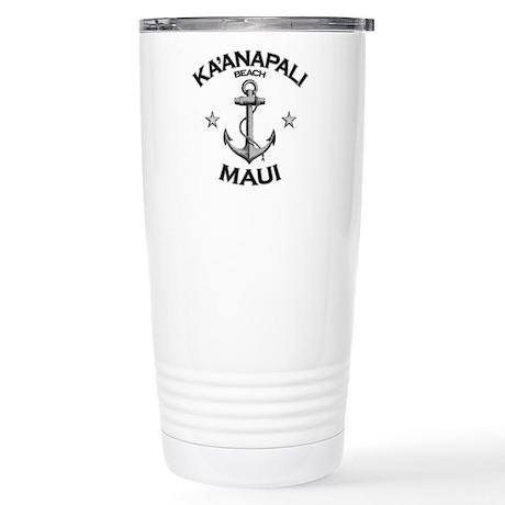 Ka'anapali Beach, Maui Stainless Steel Travel Mug