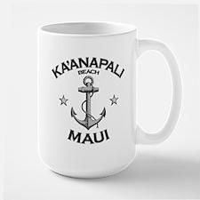 Ka'anapali Beach, Maui Large Mug