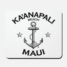 Ka'anapali Beach, Maui Mousepad