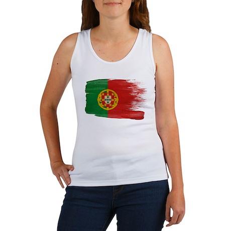 Portugal Flag Women's Tank Top