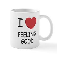 I heart feeling good Mug