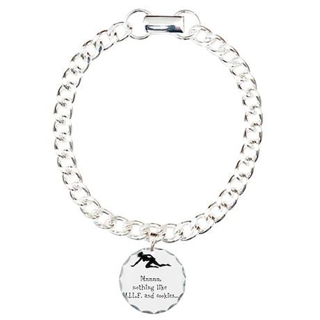 Snack Time Charm Bracelet, One Charm