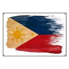 Philippines Flag Banner