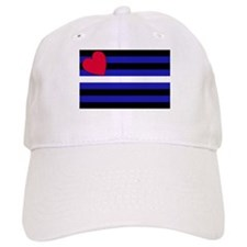 Leather Flag Baseball Cap