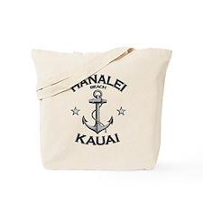 Hanalei Beach, Kauai, Hawaii Tote Bag