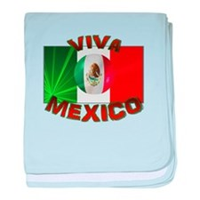 Viva Mexico baby blanket
