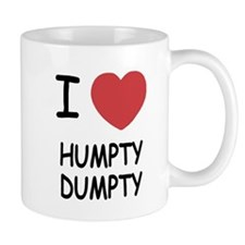 I heart humpty dumpty Small Mug