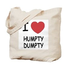 I heart humpty dumpty Tote Bag