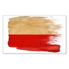Poland Flag Stickers