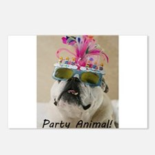 Party Animal Postcards (Package of 8)