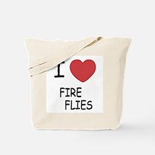 I heart fireflies Tote Bag