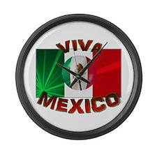 Viva Mexico Large Wall Clock